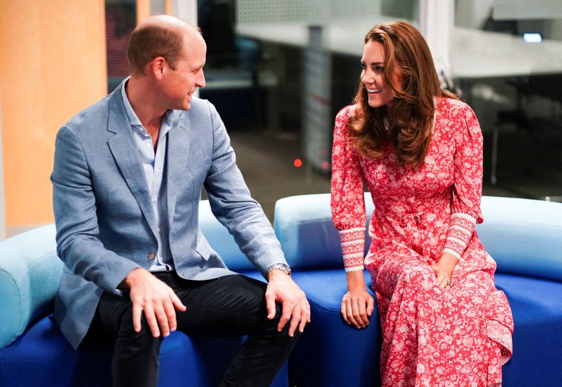 Kate Middleton et le prince William au London Bridge JobCenter