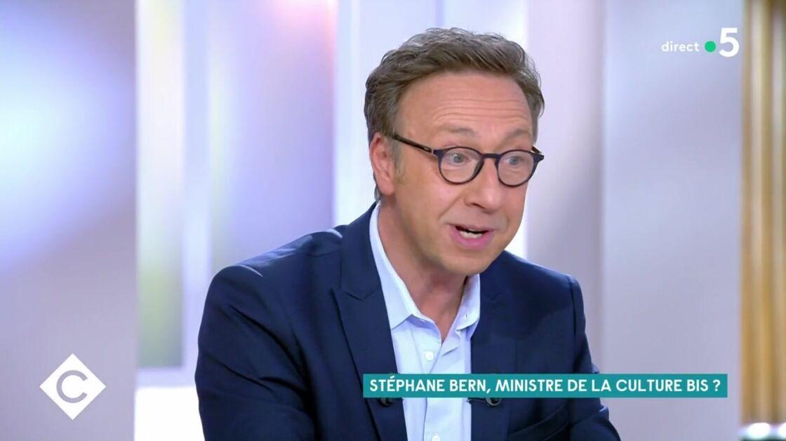 Stéphane Bern dans C à Vous, mardi 15 septembre 2020