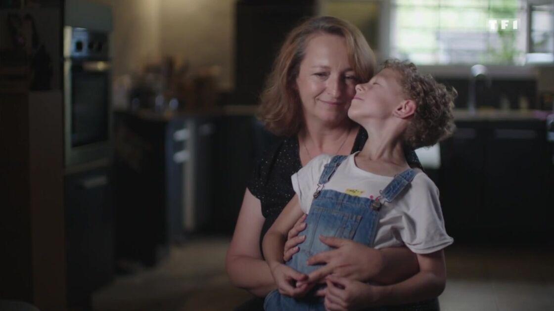 Chrystelle et sa fille Lilie