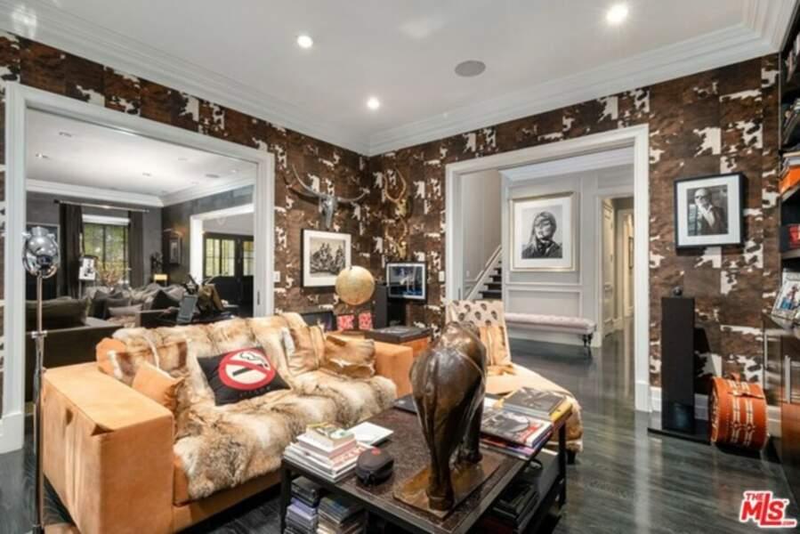 La luxueuse villa de Laeticia Hallyday à Los Angeles fait plus de 1 000 mètres carrés