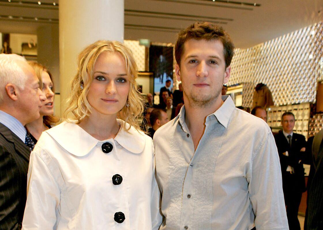 Diane Kruger et Guillaume Canet en 2005.