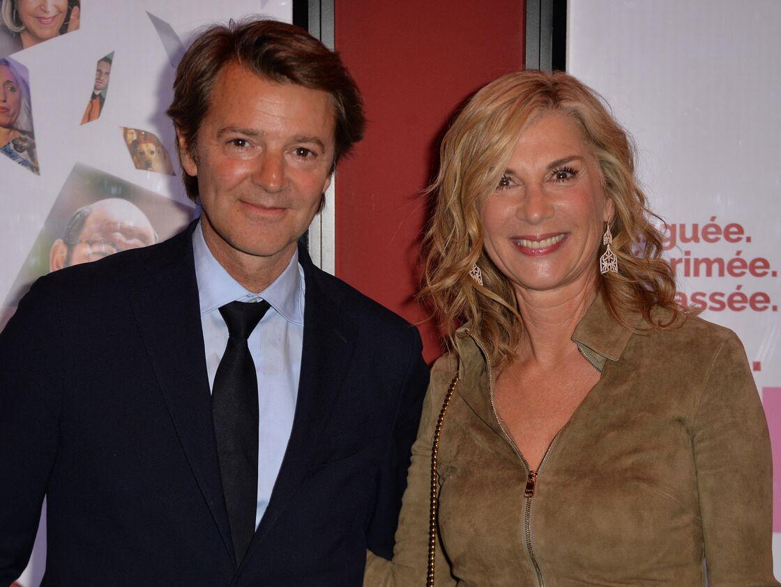 François Baroin et Michèle Laroque à l'avant-première du film