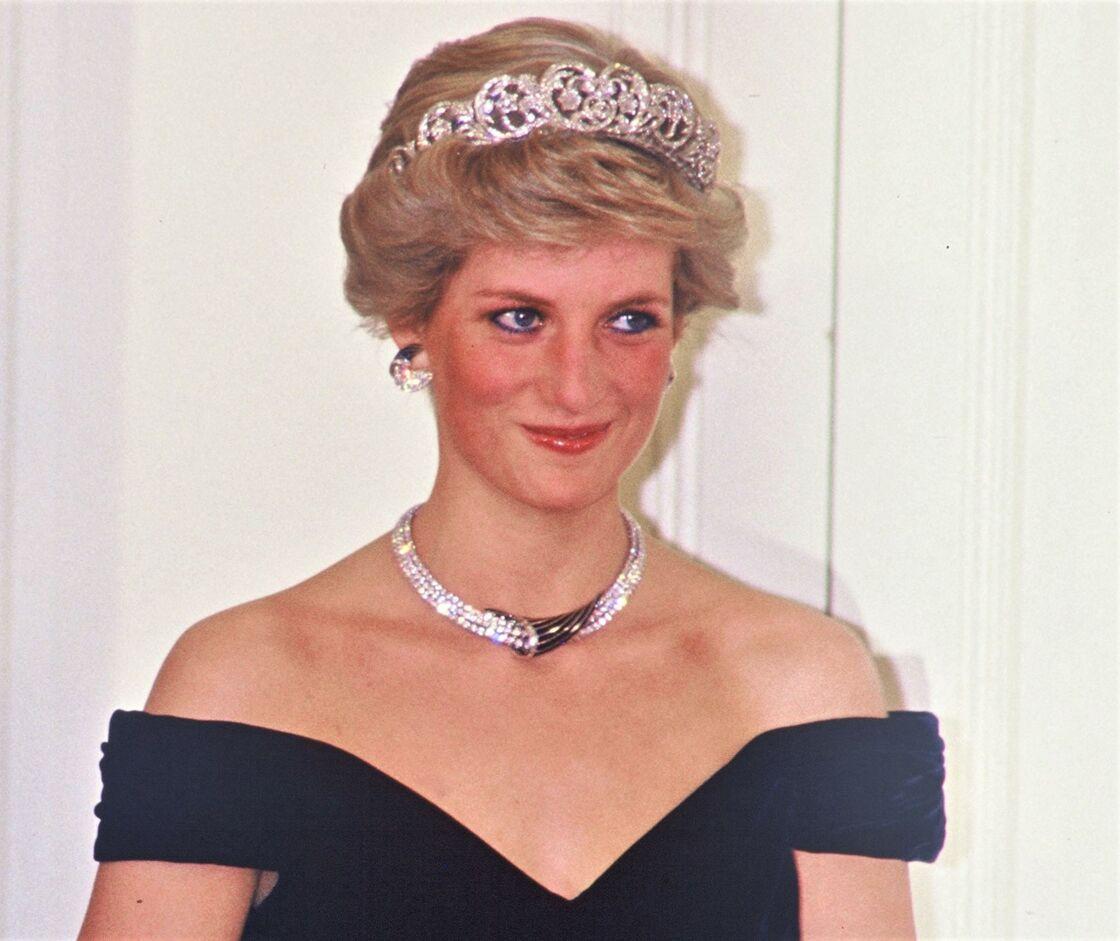 Lady Diana, à Londres, en 1987.