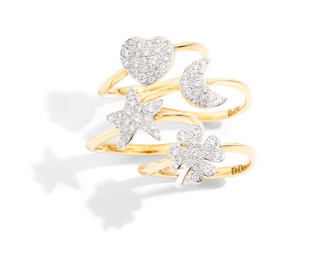 Les Precious Rings, modèle de raffinement et d'éco-responsabilité.