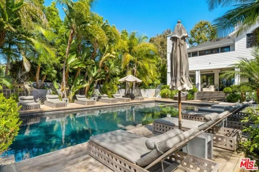 Le couple appréciait tout particulièrement sa piscine construite près de la vallée de Los Angeles