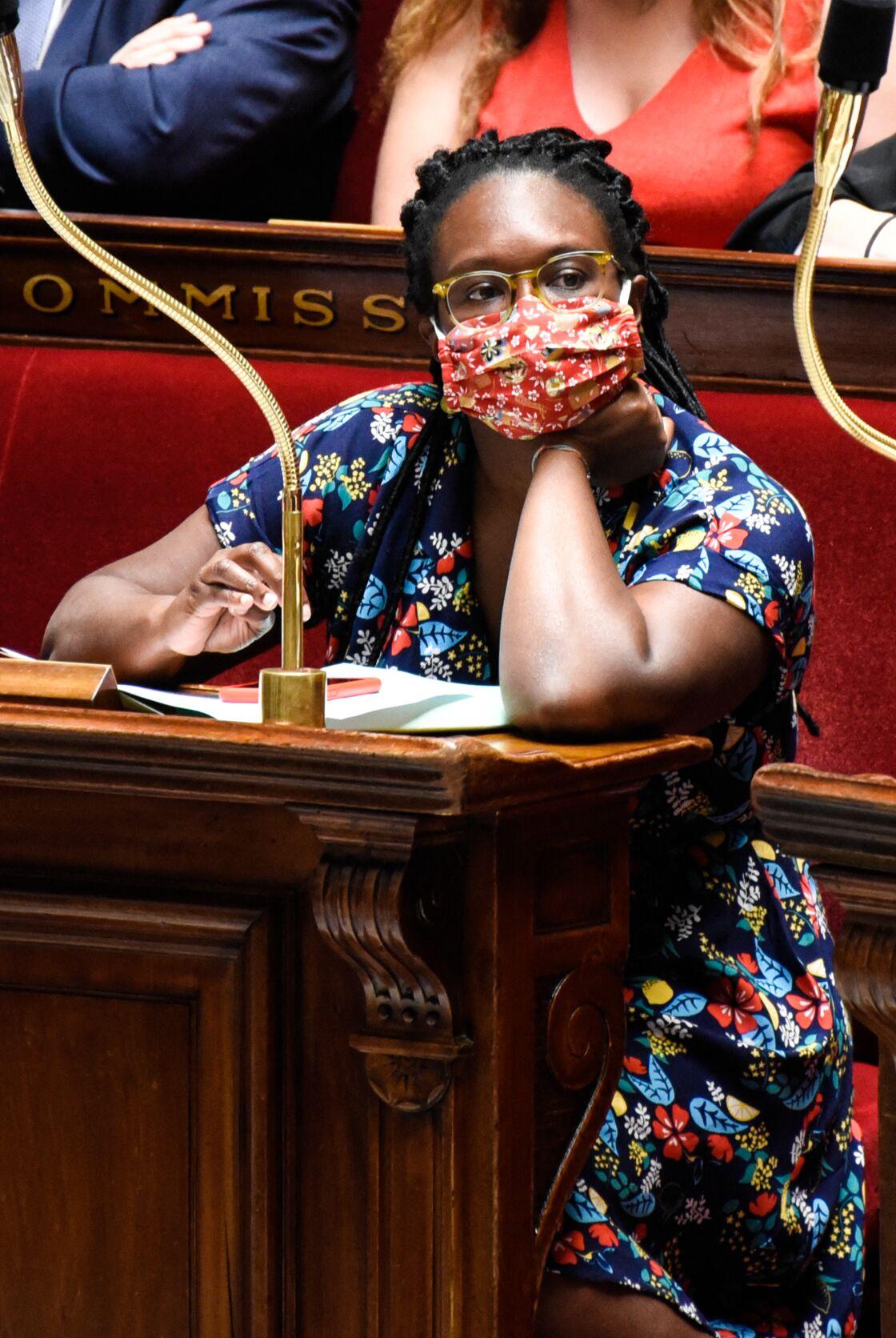 Sibeth Ndiaye, masquée à l'Assemblée nationale, le 23 juin 2020