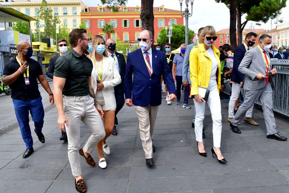 Proche du couple princier, Conor McGregor a assisté à ses côtés au départ du Tour de France à Nice le 29 août dernier