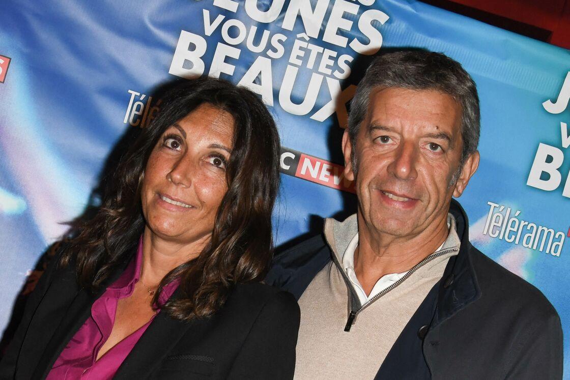 Michel Cymes et sa femme Nathalie - Avant-première du film