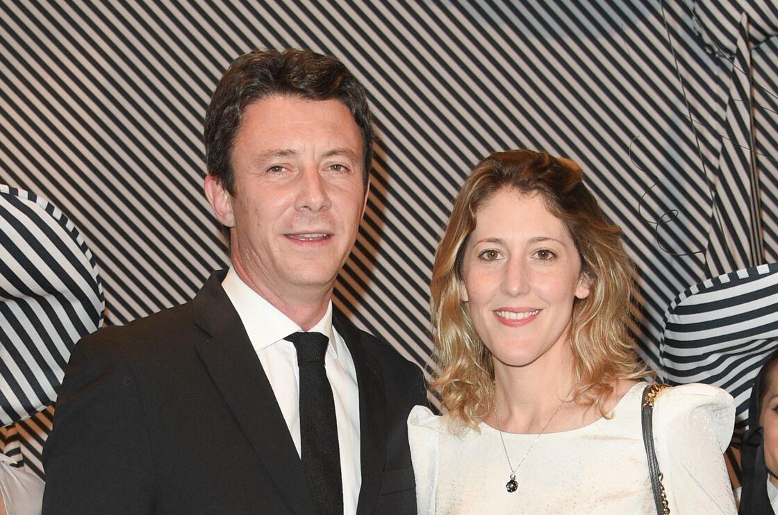 Benjamin Griveaux avec sa femme Julia Minkowski - Dîner de gala annuel de la société des amis du Centre Pompidou