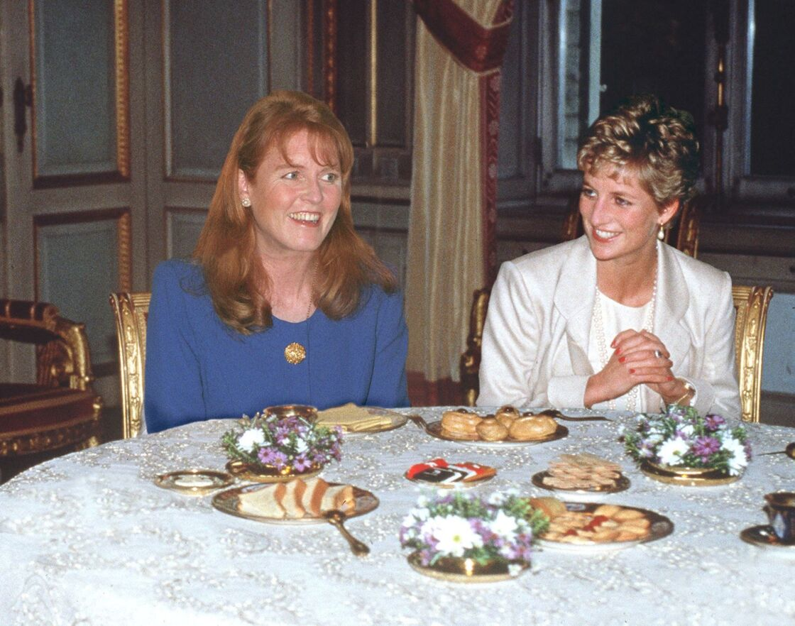 Lady Di et Sarah Ferguson