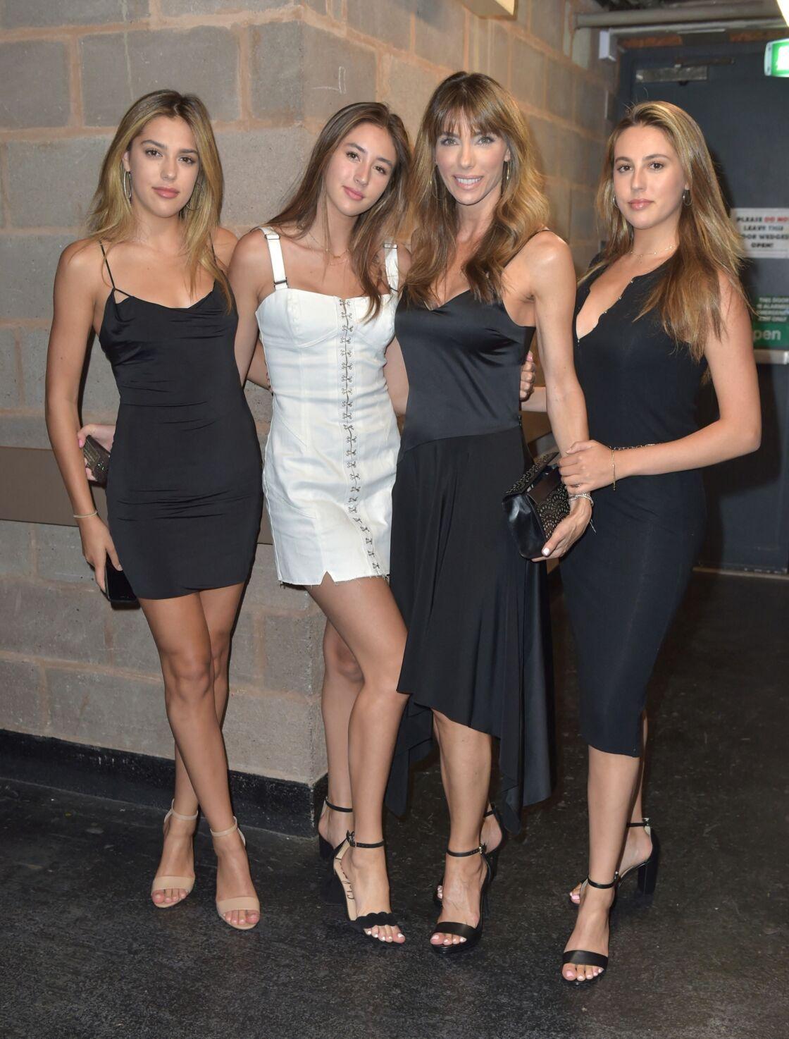L'épouse et les filles de Sylvester Stallone