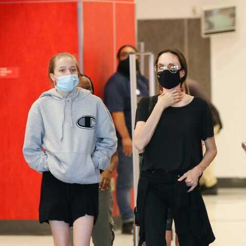 PHOTOS – Nouveau look pour Shiloh, la fille d'Angelina Jolie et Brad Pitt