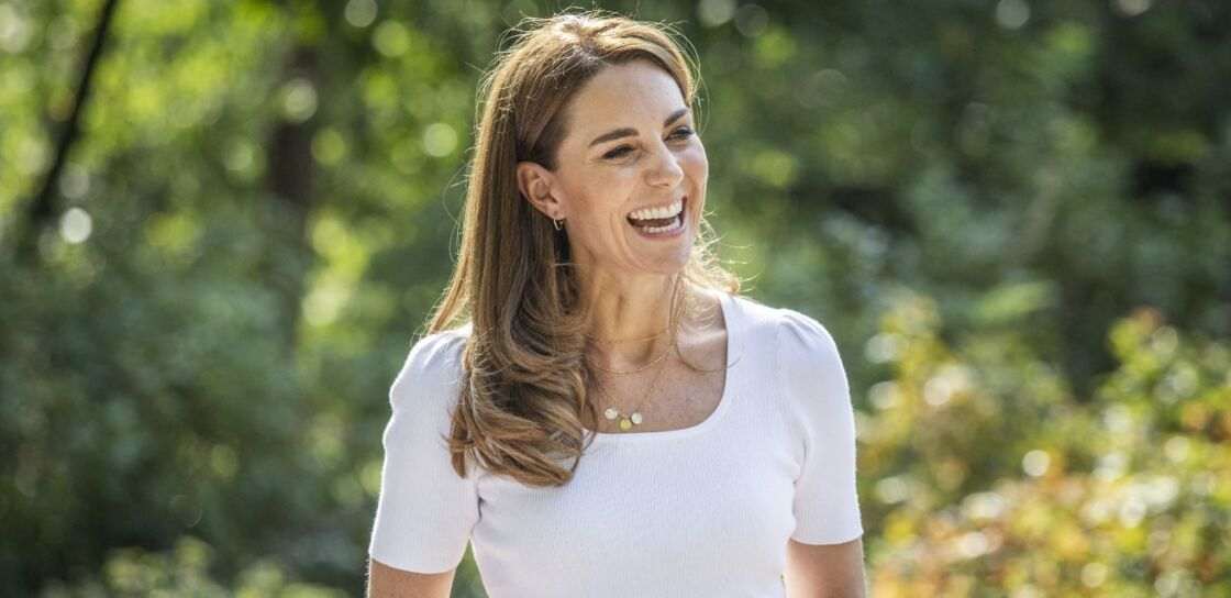 Kate Middleton à Battersea Park, à Londres, le 22 septembre 2020.