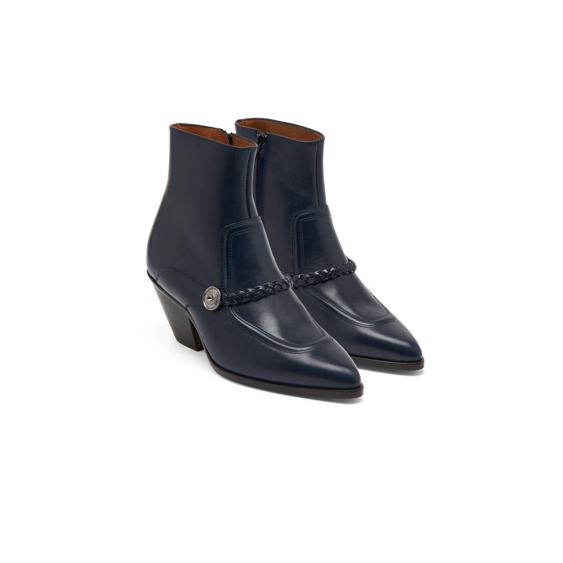 Les boots rock de la collection Clara Luciani & Sandro