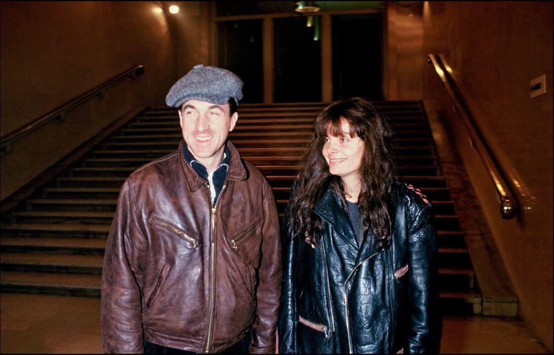 François Cluzet et Marie Trintignant
