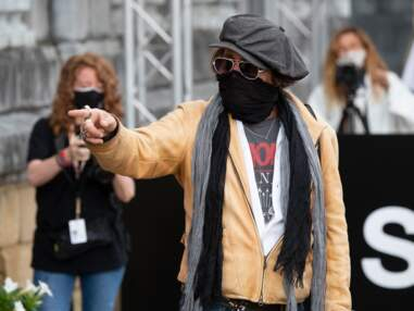 PHOTOS - Après son procès contre Amber Heard, Johnny Depp réapparaît