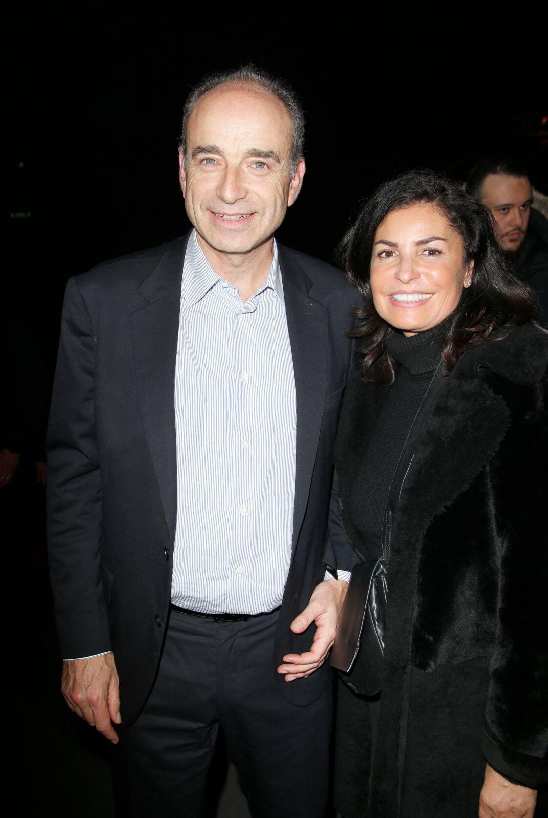 Nadia et Jean-François Copé en 2019.