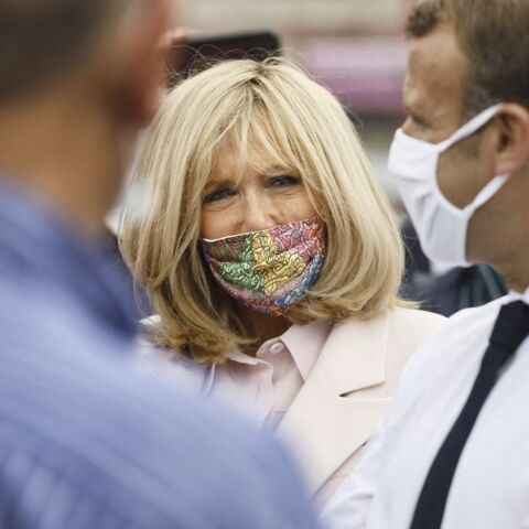 Brigitte Macron masquée: son clin d'œil à un artiste marocain