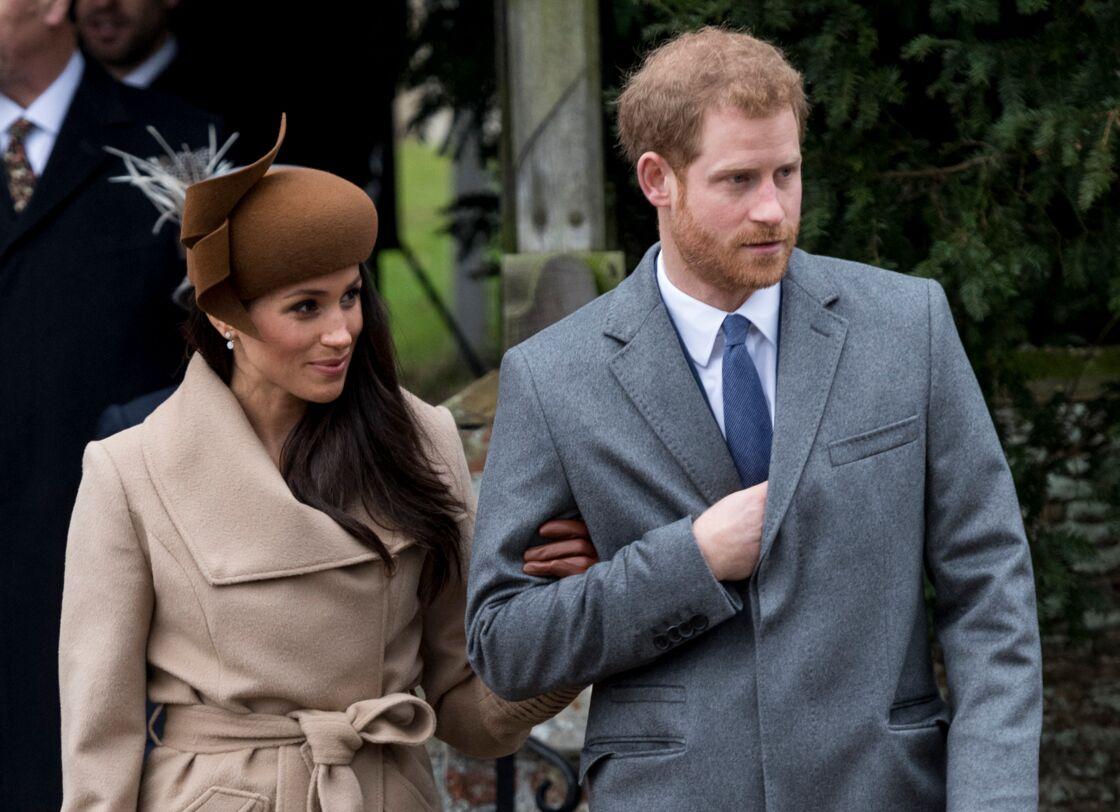 Meghan et Harry en décembre 2017