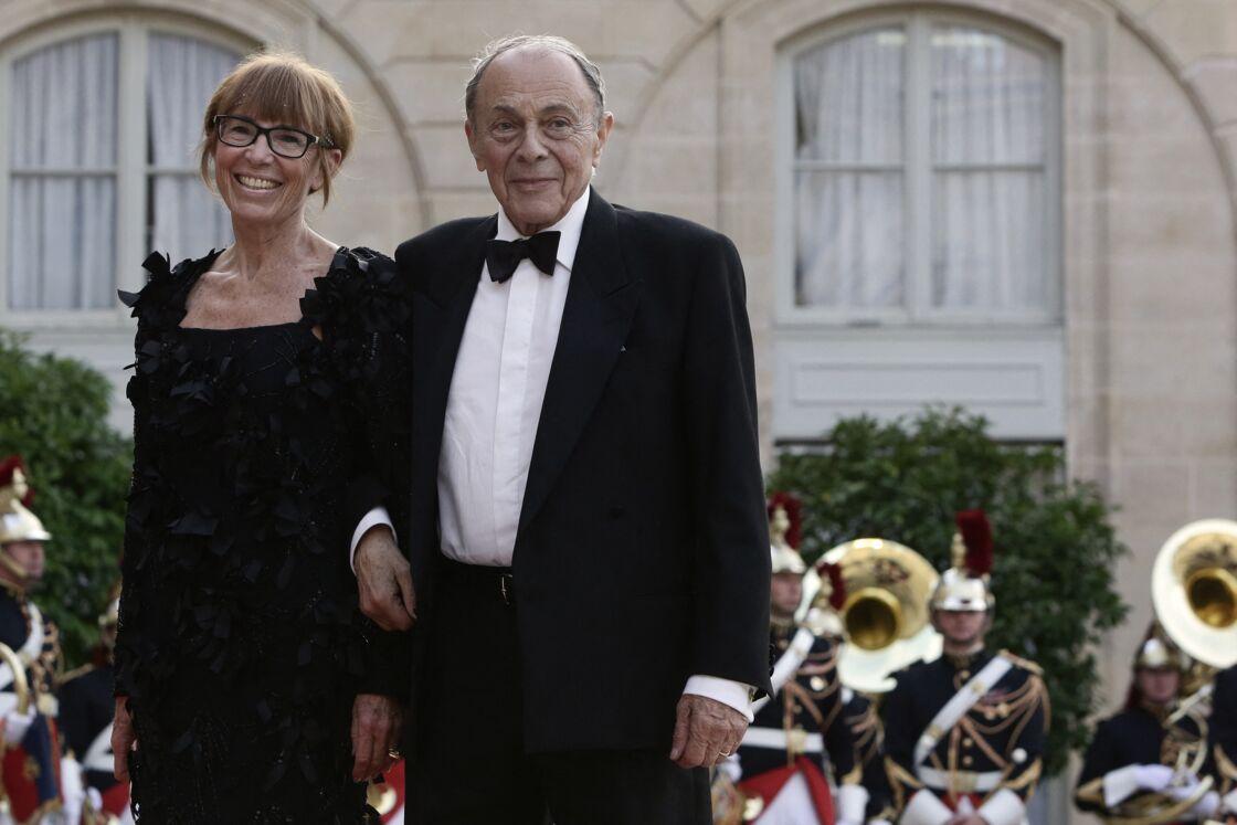 Sylvie Pélissier et Michel Rocard en 2014