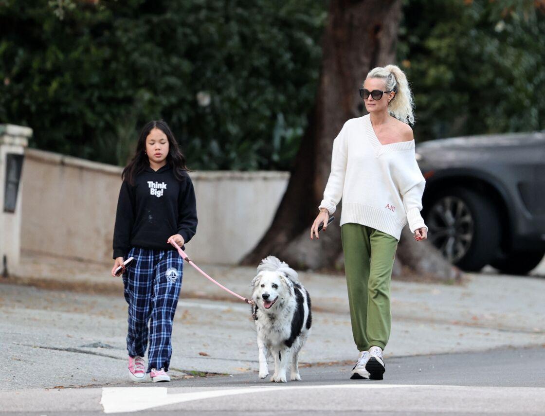 À Los Angeles, Laeticia Hallyday et ses filles vivent le rêve américain
