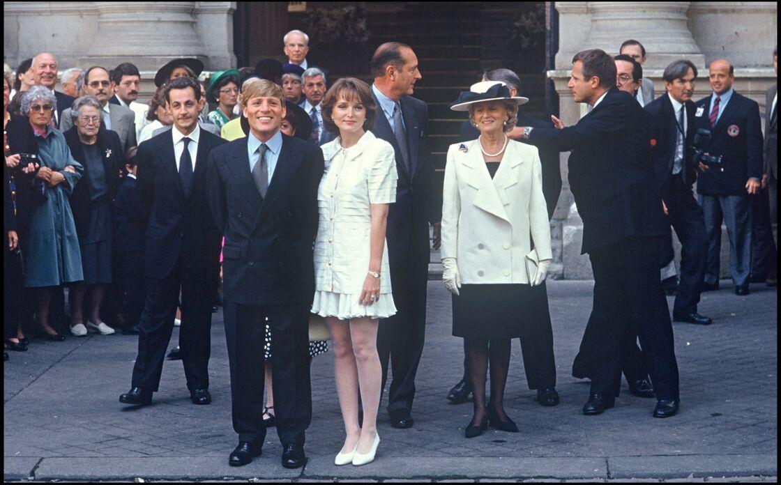 Mariage de Claude Chirac et Philippe Habert