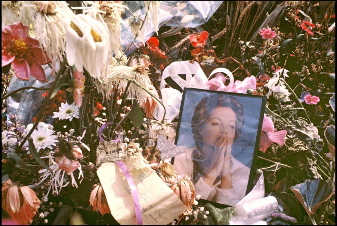 Tombe de Romy Schneider dans les Yvelines