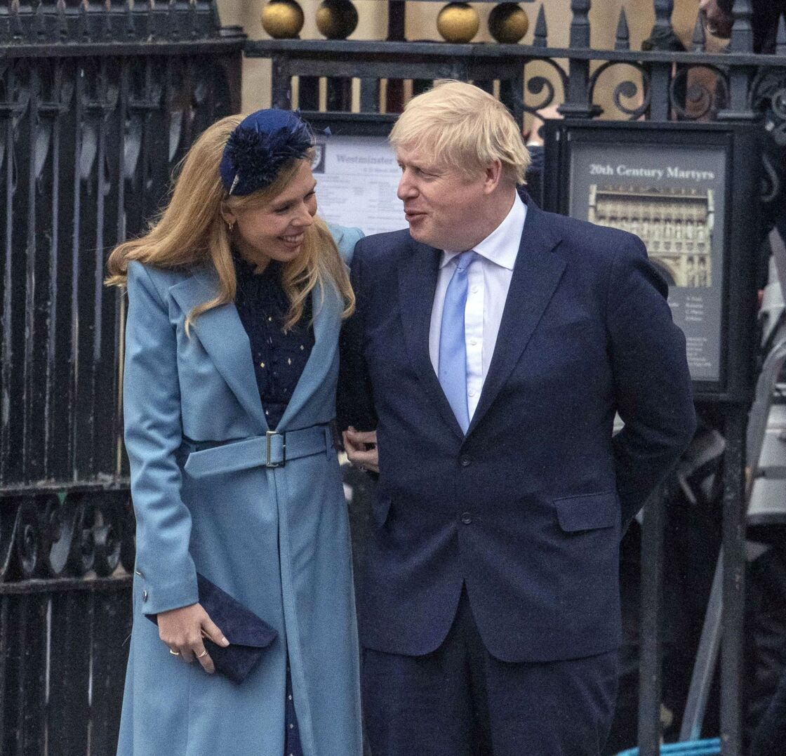 Boris Johnson et Carrie Symonds