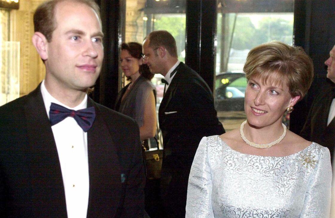 Edward et Sophie de Wessex en 2001