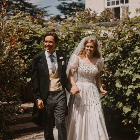 PHOTOS – Beatrice d'York expose sa robe de mariée: où peut-on la voir?