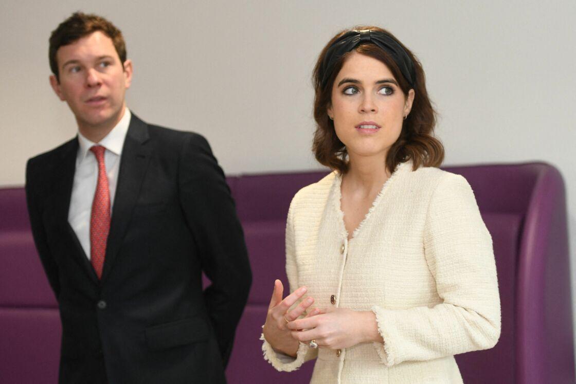 La princesse Eugenie et son mari Jack Brooksbank en mars 2019