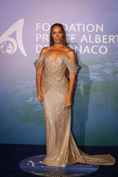 Leona Lewis en robe longue Pamela Rolland