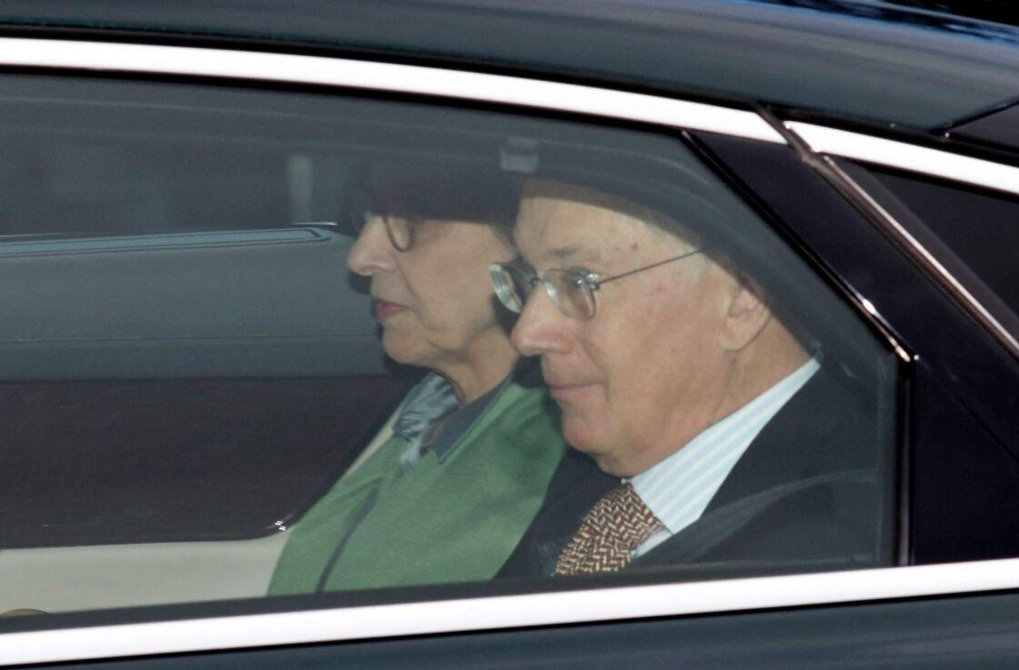 Le duc de Gloucester, le prince Richard, avec son épouse Birgitte van Deurs.