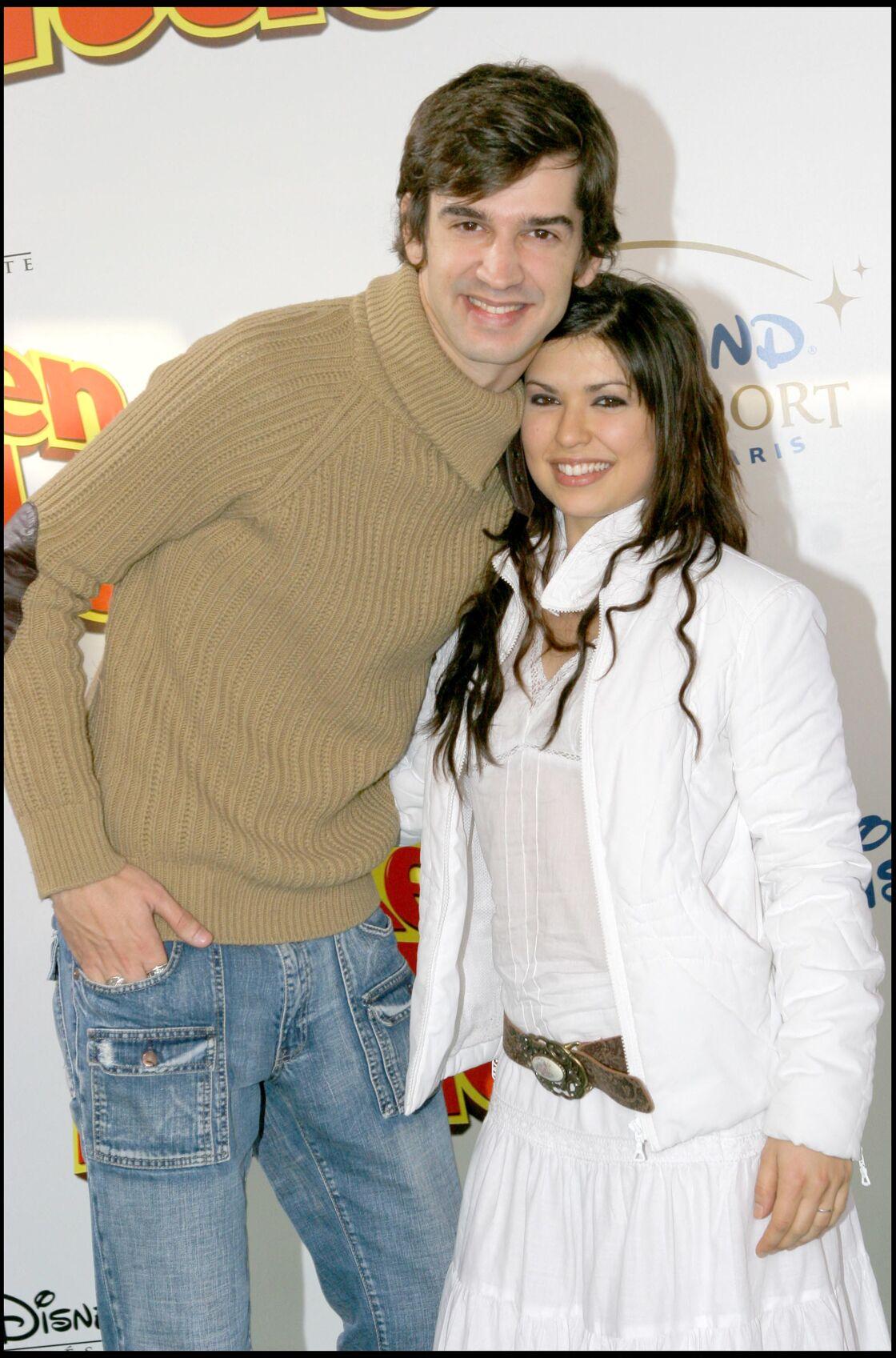 Mathieu Johann et Lucie Bernardoni en 2005.