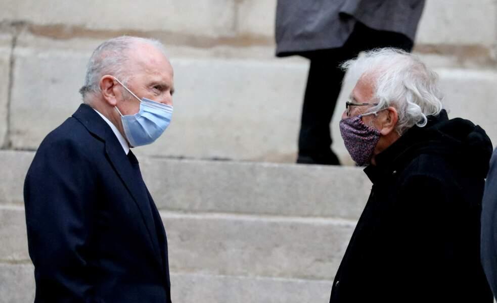 François Pinault et Jacques Vendroux