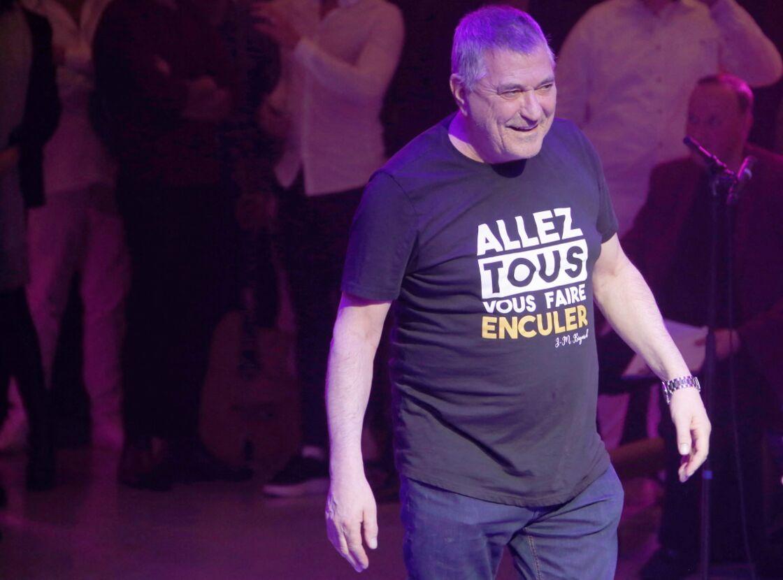 Jean-Marie Bigard au 80e anniversaire de Marcel Campion, au Cirque d'hiver Bouglione à Paris, le 17 février 2020.