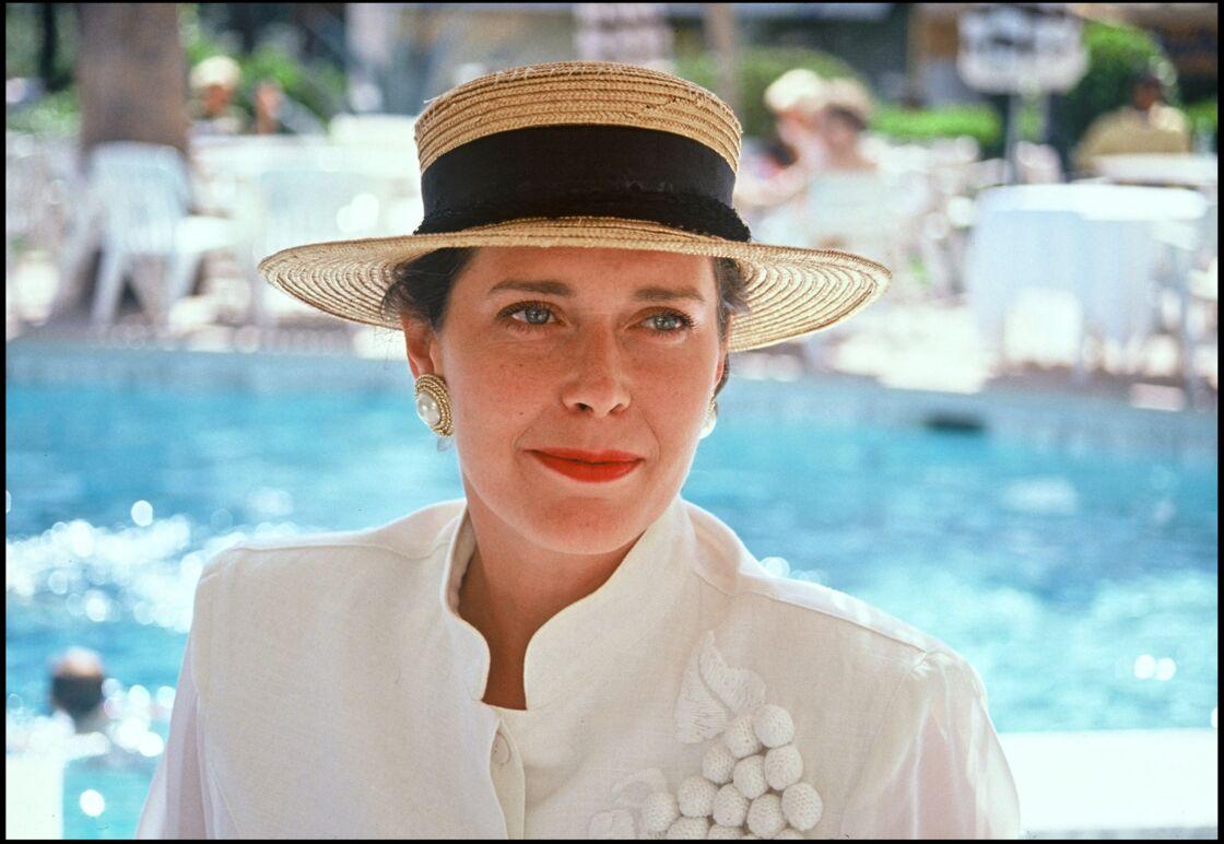Sylvia Kristel, en 1990