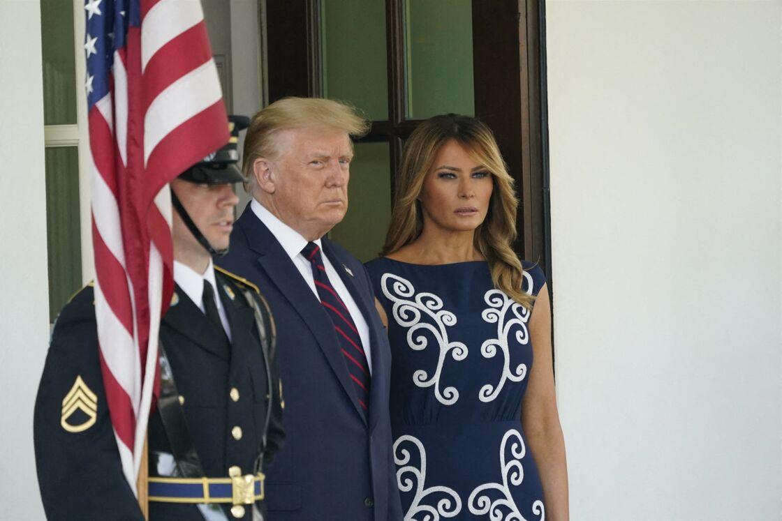 Donald et Melania Trump à la Maison Blanche