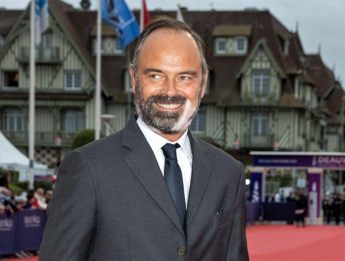 Edouard Philippe sur le tapis rouge du 46e festival de Deauville, le 4 septembre 2020.