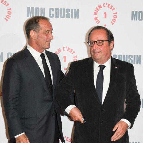 François Hollande et Vincent Lindon complices: l'ancien président tout sourire