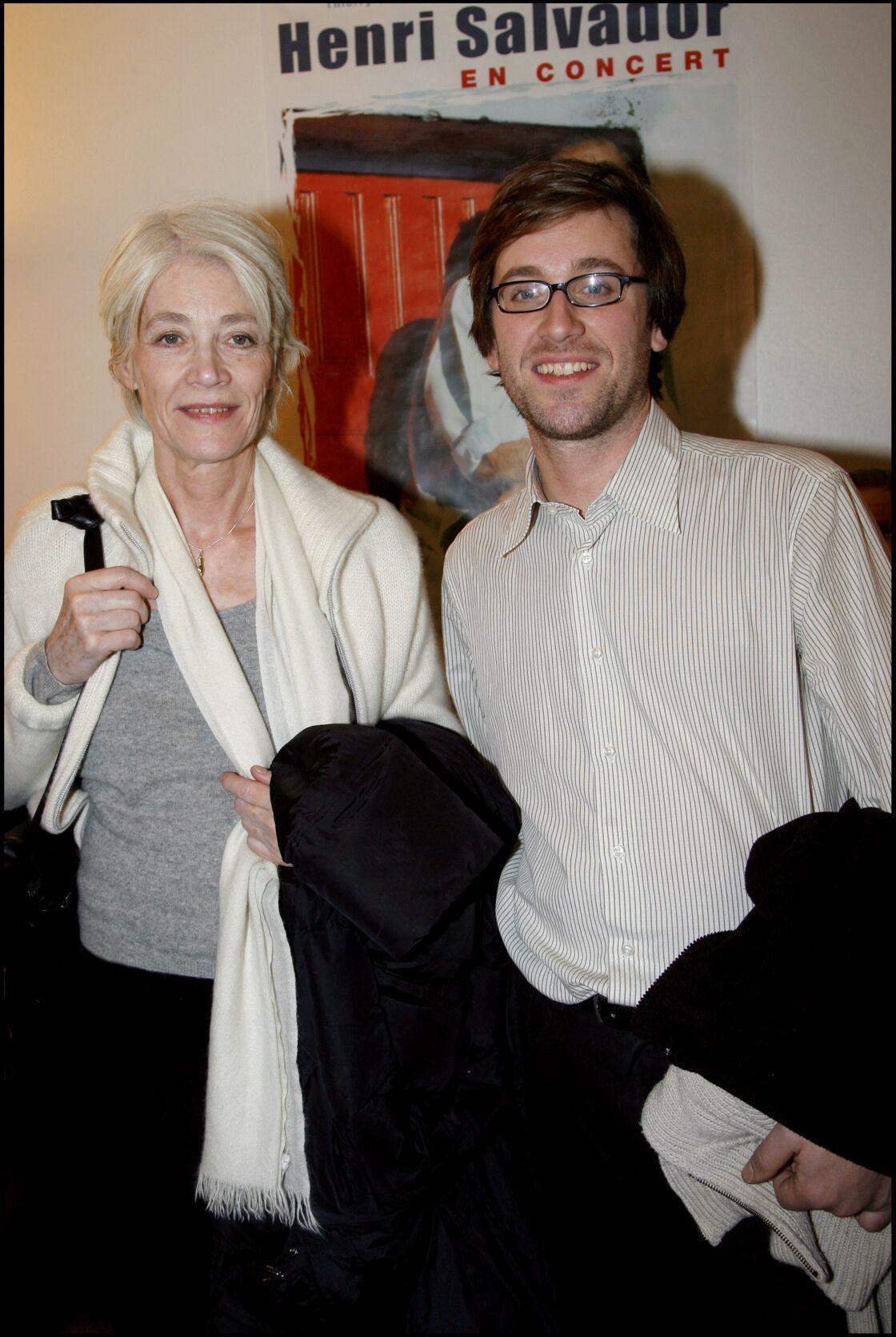 Thomas Dutronc et sa mère Françoise Hardy
