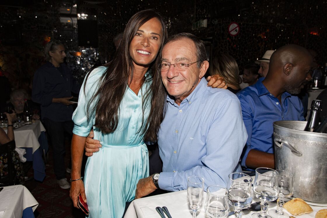 Jean-Pierre Pernaut et Nathalie Marquay lors d'un dîner de gala pour l'association Aktebo, oeuvrant pour les enfants malades, en septembre 2019. Une cause importante pour ces deux rescapés d'un cancer.