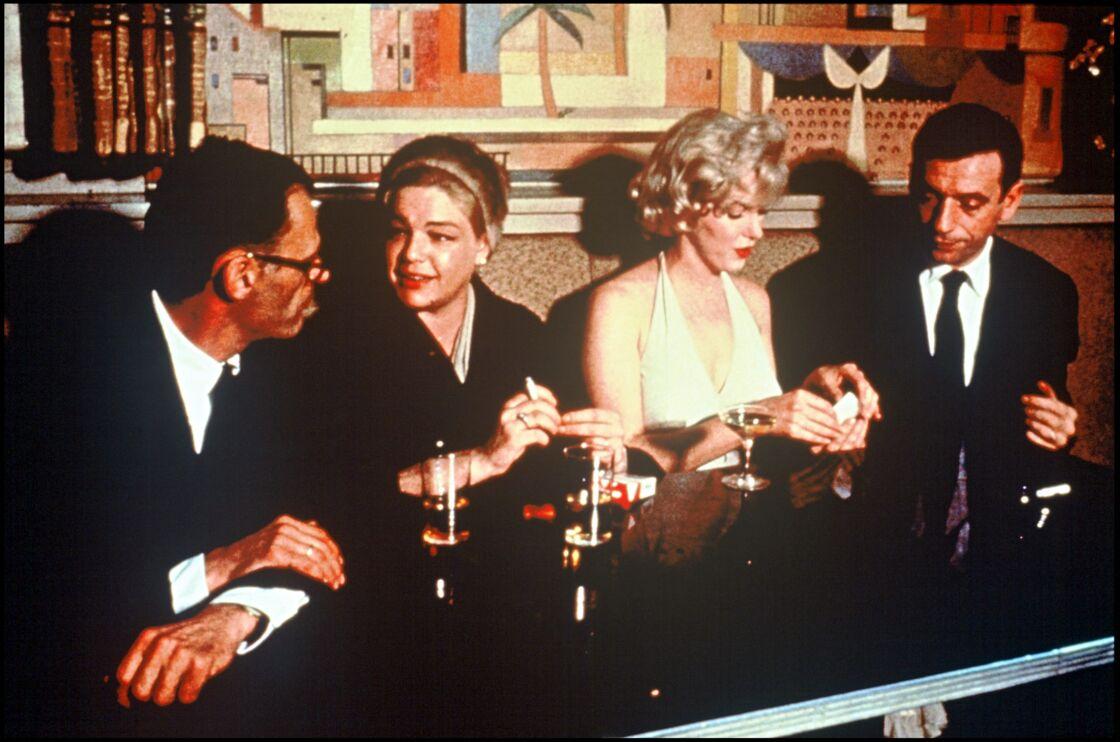 En quelques semaines seulement, Yves Montand et Simone Signoret deviennent des intimes du couple formé par Arthur Miller et Marilyn Monroe