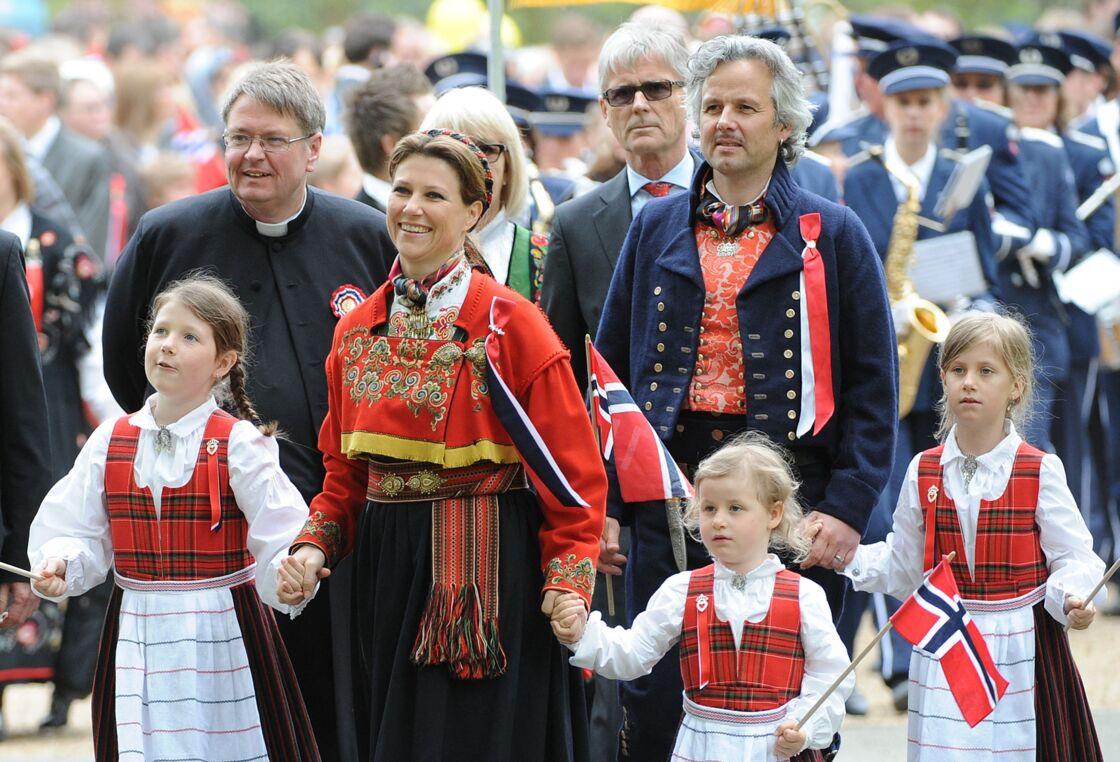 Ari Behn et ses filles
