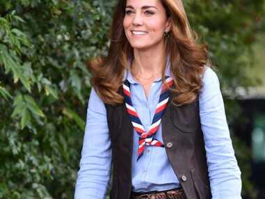 PHOTOS - La sortie de Kate Middleton avec des scouts