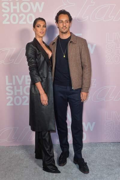 Iris Mittenaere et Diego ont assisté au défilé Etam Live Show 2020 en amoureux.