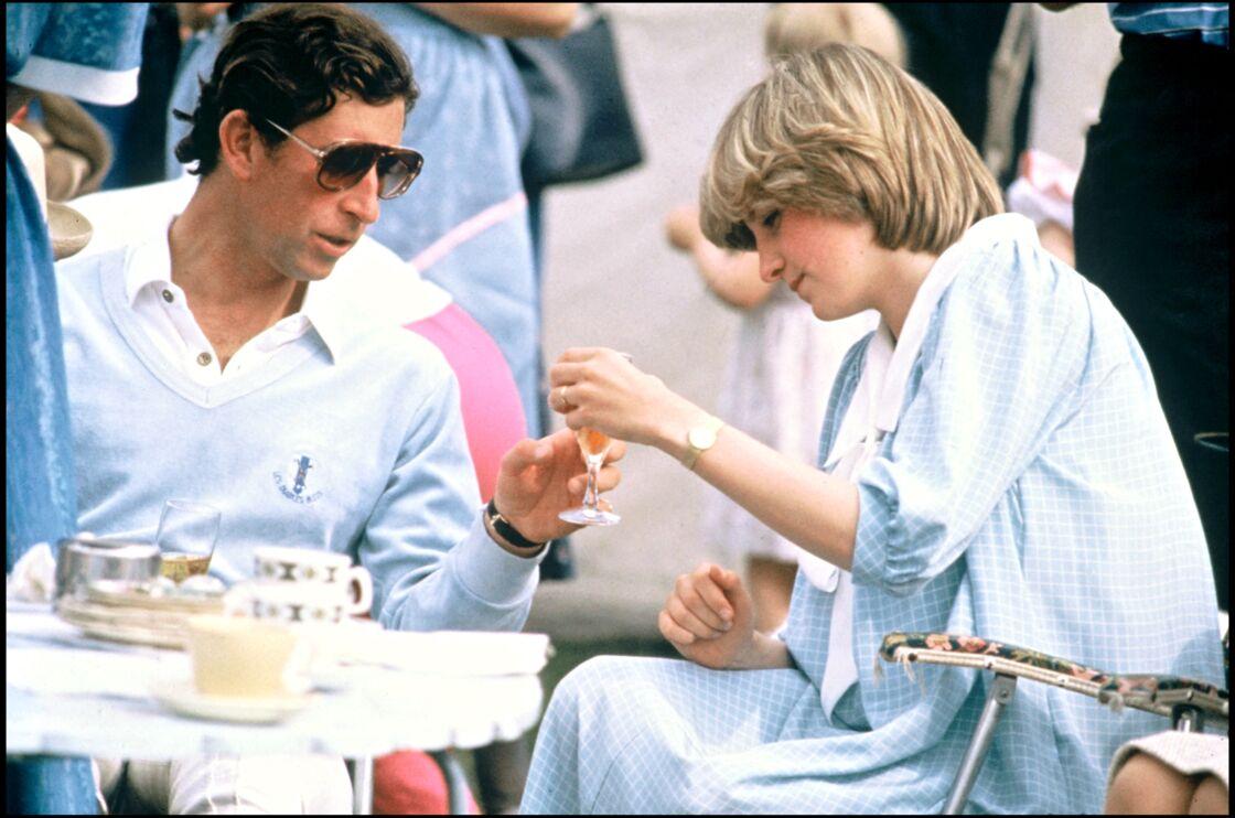 Le prince Charles et Lady Diana au château de Windsor, en juin 1982.