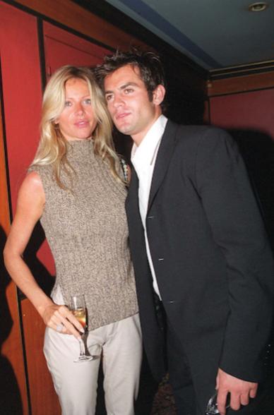 Filip Nikolic et Valérie Bourdin, quelques mois après leur rencontre, en 1999.