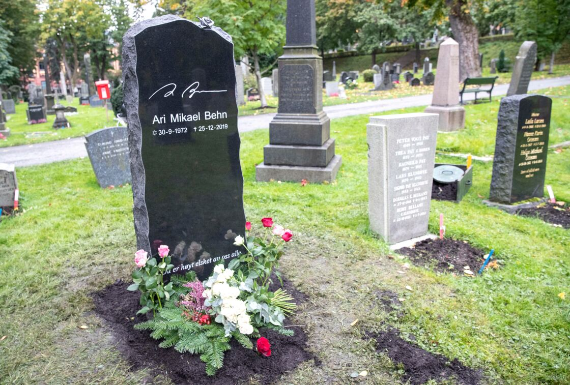 Tombe d'Ari Behn, ce 1er octobre.