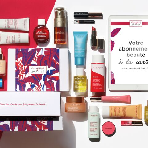 Bon plan: Clarins lance sa première box beauté Unlimited